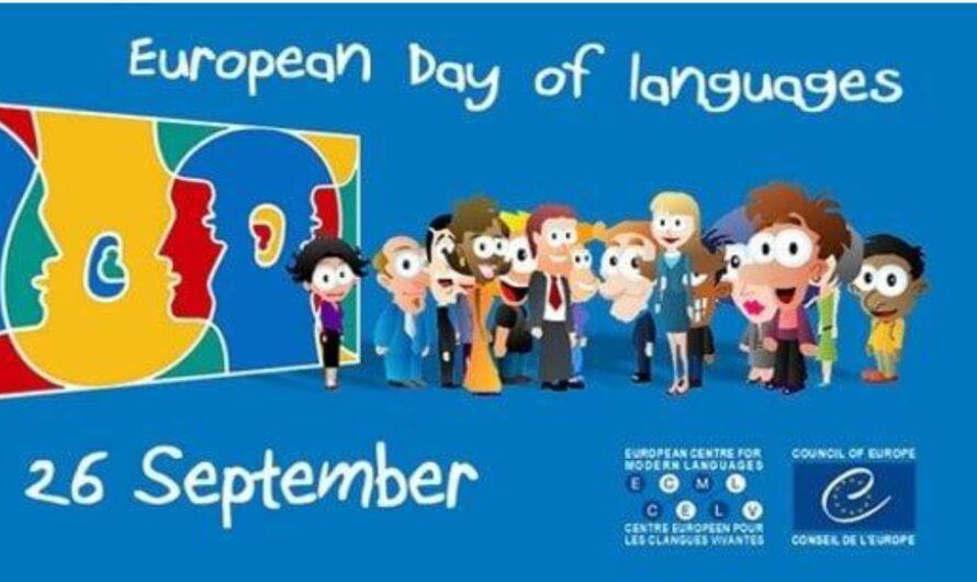 Evropski dan jezika – 26. septembar