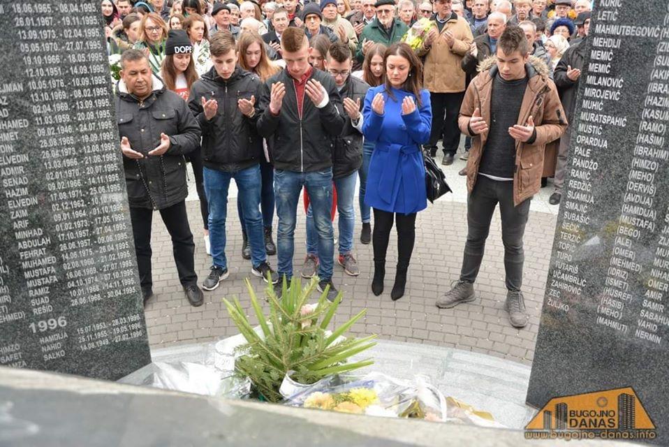 1.Mart – Dan nezavisnosti BiH, Polaganje cvijeća
