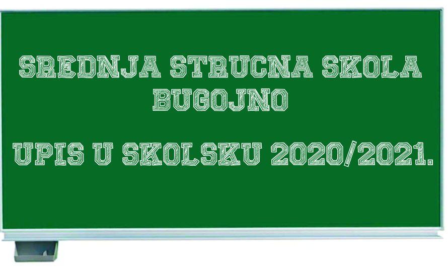 ZANIMANJA KOJA MOŽETE UPISATI U NAŠOJ ŠKOLI – Upis u školsku 2020/2021.