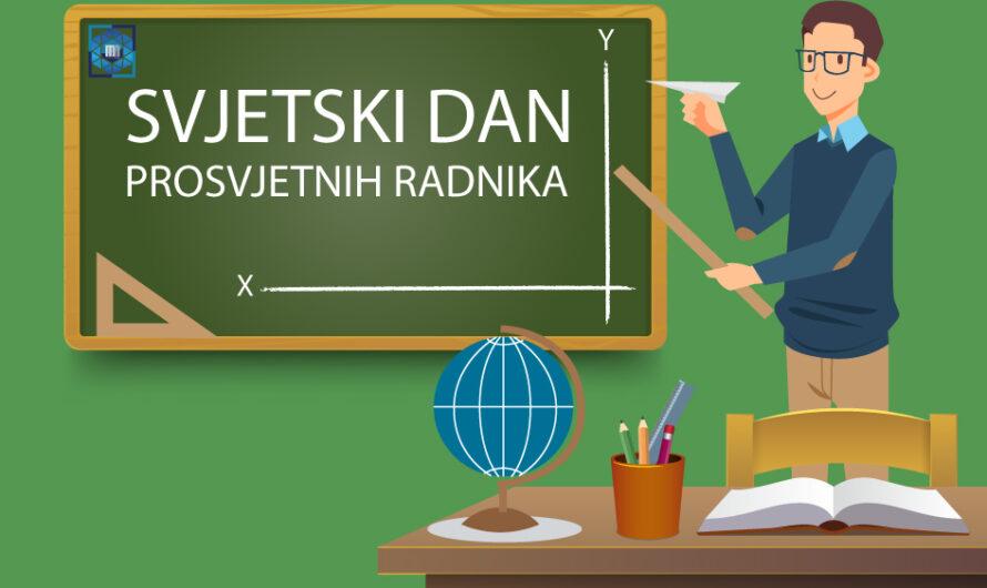 Obilježen 5.oktobar, Dan prosvjetnih radnika u Srednjoj stručnoj školi Bugojno
