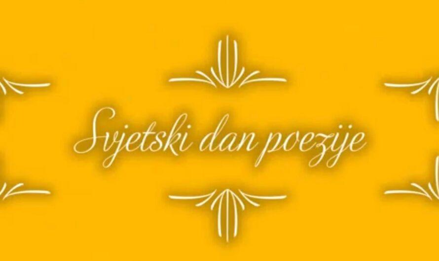 Učenici Srednje stručne škole obilježavaju 21. mart, Svjetski dan poezije