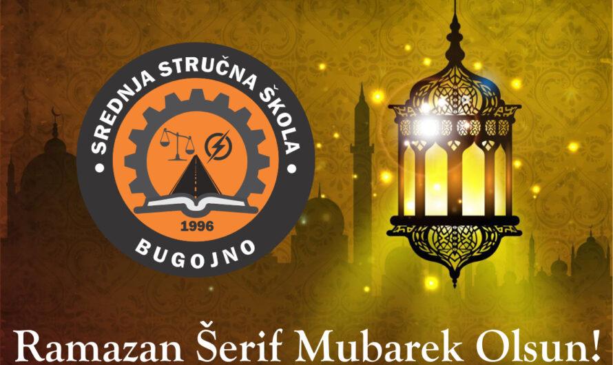 Čestitka – Ramazan Šerif Mubarek Olsun